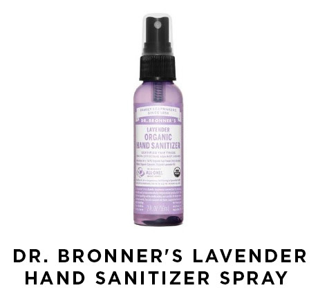 dr. bronners lavender hand sanitizer spray
