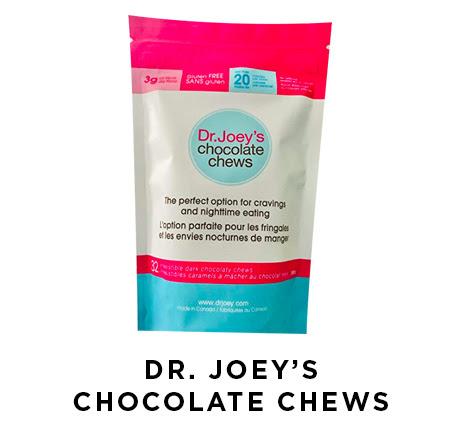 Dr. Joey's chocolate chews