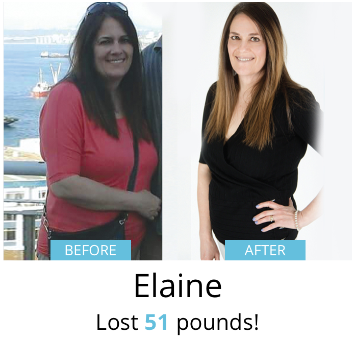 Elaine lost 51 pounds!