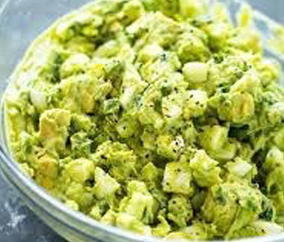 Avocado Egg Salad | Shulman Weightloss