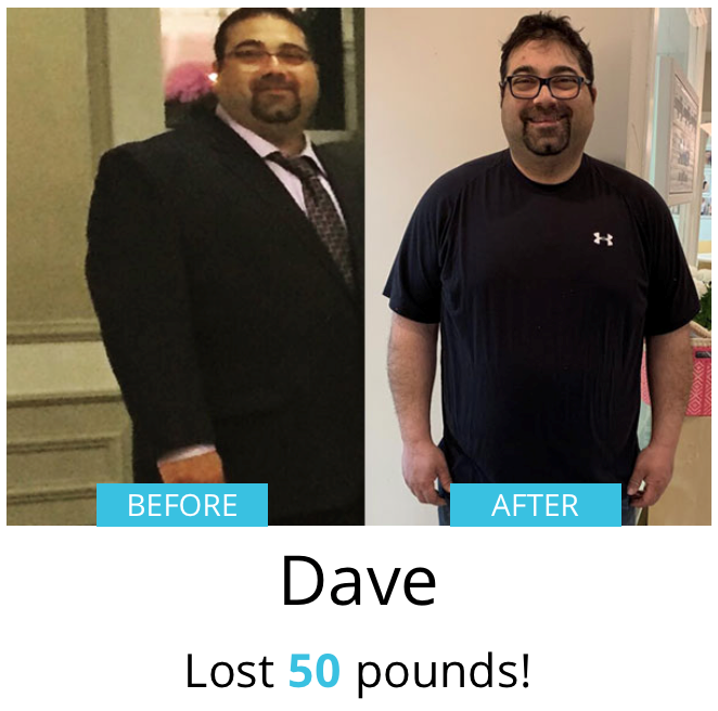 Dave Before & After| Shulman Weightloss
