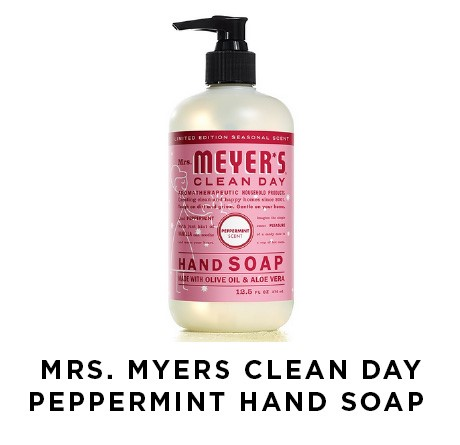Mrs. Myers Clean Day Peppermint Hand Soap