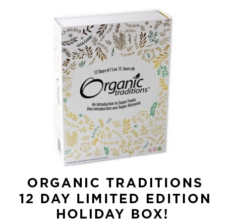Organic Traditions 12 Day Limited Edition Holiday Box