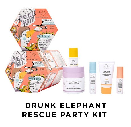 Drunk Elephant Rescue Party Kit