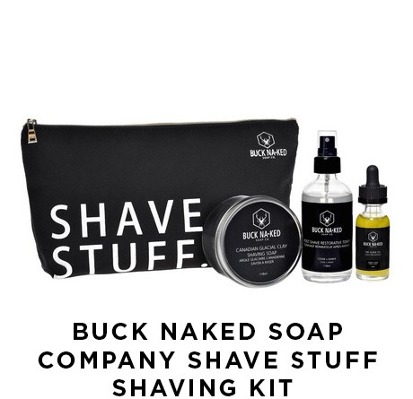 Buck Naked Soap Company Shave Stuff Shaving Kit