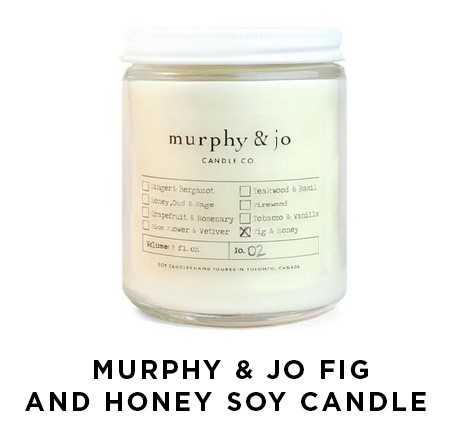 Murphy & Jo Fig And Honey Soy Candle | Shulman Weightloss