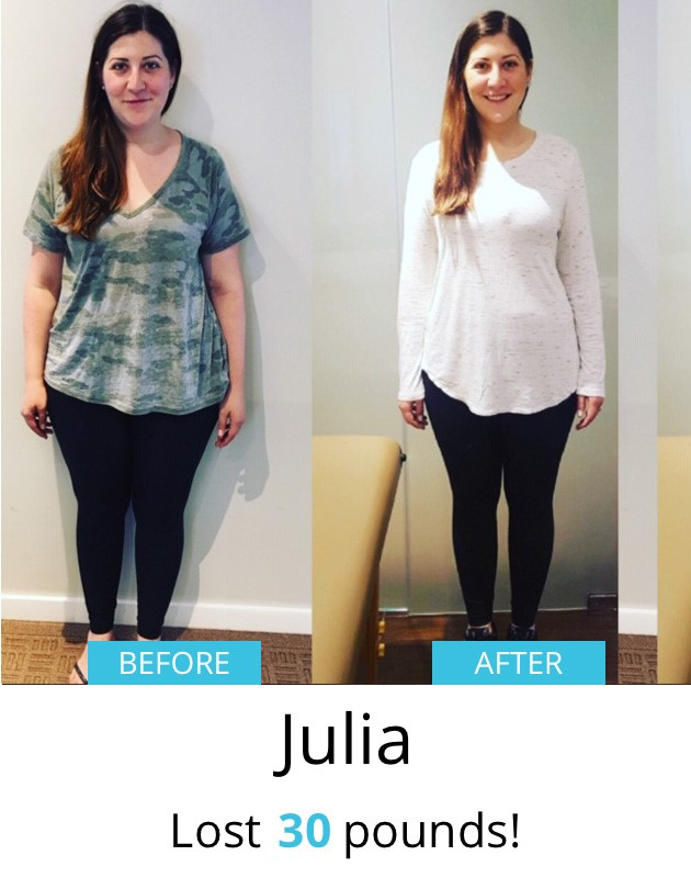 Julia Before & After | Dr. Joey Shulman Weightloss Clinic
