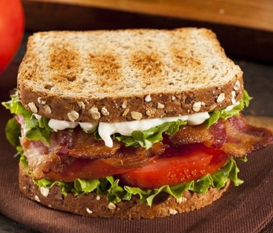 Breakfast BLT egg sandwich | Shulman Weightloss