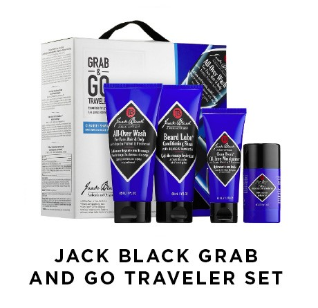 Jach Black Grab and Go Traveler Set