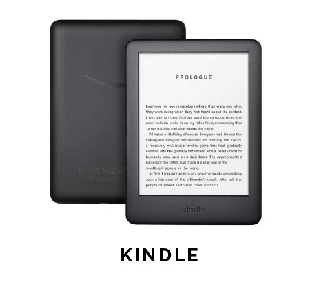 All-new Kindle holds thousands of books