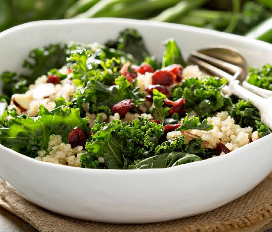 Kale & Apple Super Foods Salad | Shulman Weightloss