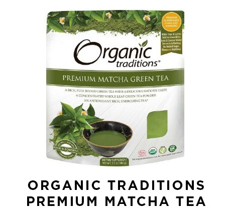 Organic Traditions Premium Matcha Tea | Shulman Weightloss