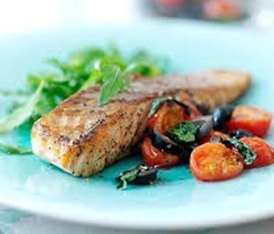 Mediterranean Salmon | Shulman Weightloss