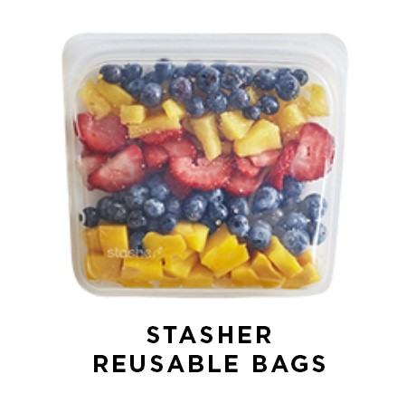 Stasher Reusable Bags | Shulman Weightloss