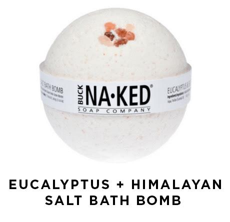Eucalyptus + Himalayan Salt Bath Bomb | Shulman Weightloss