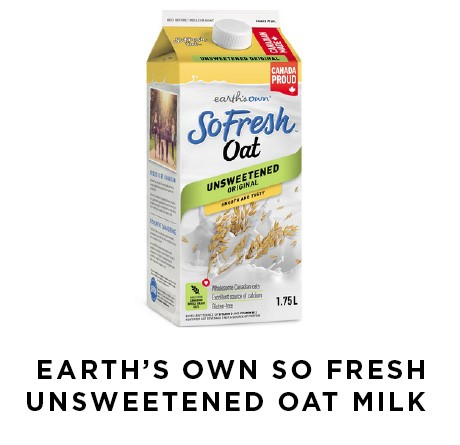 Earth's Own So Fresh Unsweetened Oat Milk