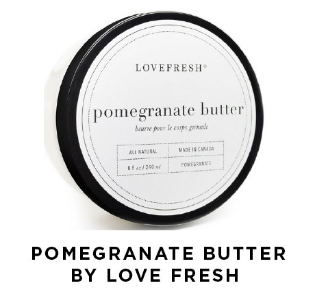 Pomegranate Butter by Love Fresh