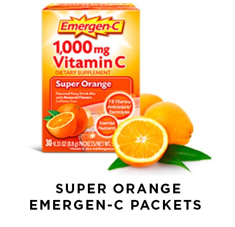Super Orange Emergen-C Packets