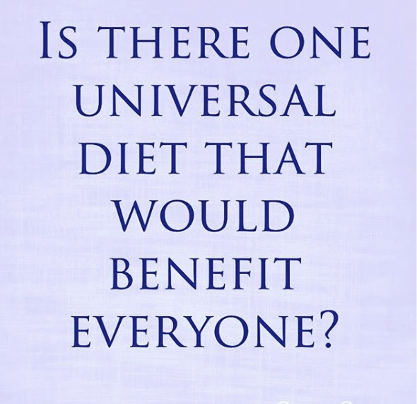 Is there one universal diet that would benefit everyone? | Shulman Weightloss