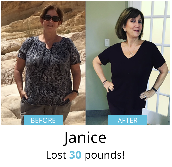 Janice lost 30 pounds!