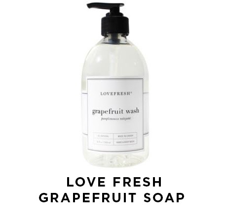 love fresh grapefruit soap