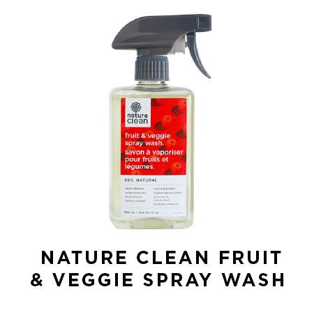 Nature Clean Fruit & Veggie Spray Wash