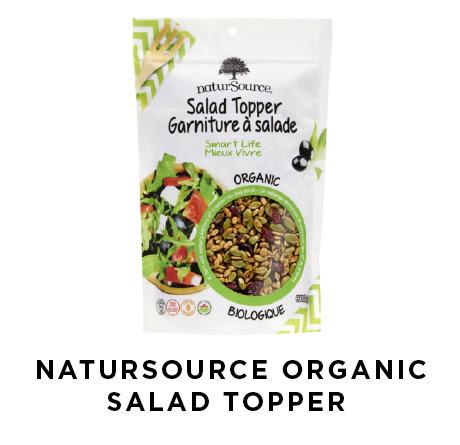 natursource organic salad topper