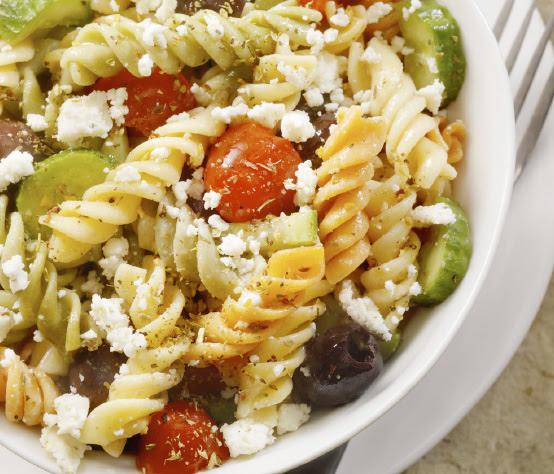 Chickpea pasta salad | Shulman Weightloss