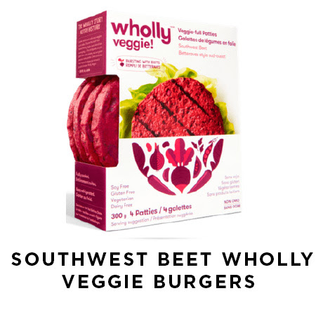southwest beet wholly veggie burgers