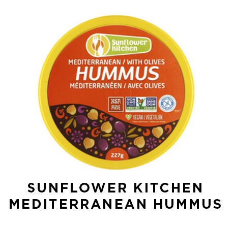 Sunflower kitchen mediterranean hummus