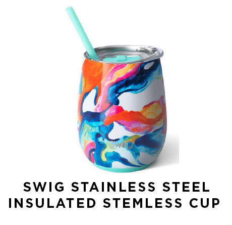 Swig stainless steel insulated stemless cup