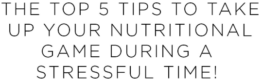 The Top 5 Tips To take Up your Nutrional | Shulman Weightloss