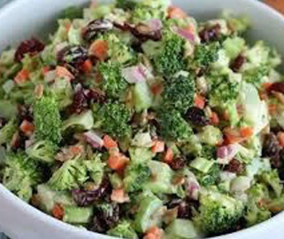 Broccoli and cauliflower detoxifying salad | Shulman Weightloss