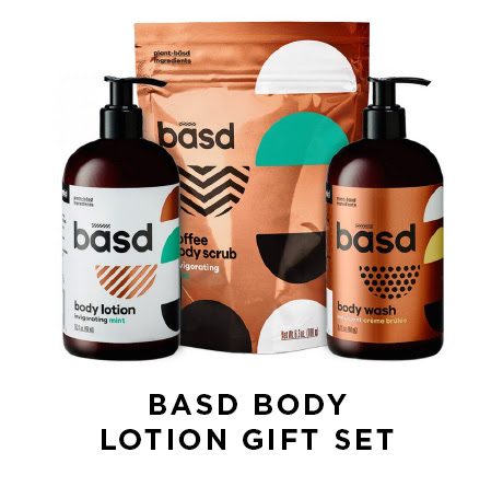 Basd body lotion gift set