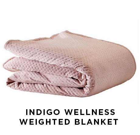 Intigo wellness weighted blanket