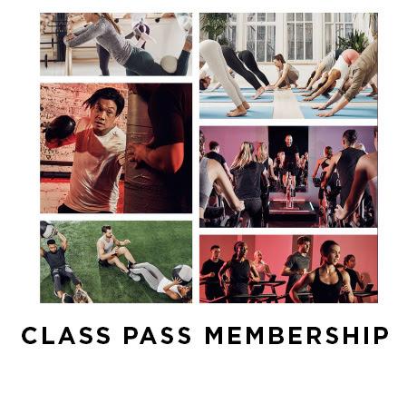 Class pass membership