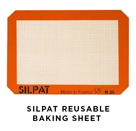 Silpat reusable baking sheet