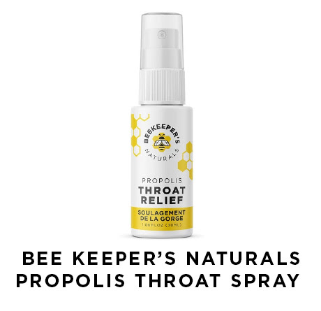 Bee keepers naturals propolis throat spray