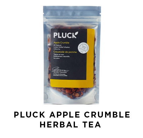 Pluck apple crumble herbal tea