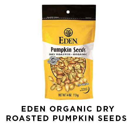 Eden organic dry roasted pumpkin seeds