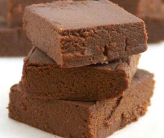 No bake chocolate fudge | Shulman Weightloss