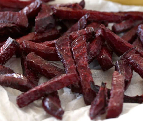 Crispy beet frites | Shulman Weightloss