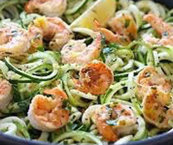 Shrimp zoodles | Shulman Weightloss