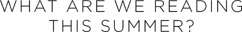 What are we reading this summer? | Shulman Weightloss